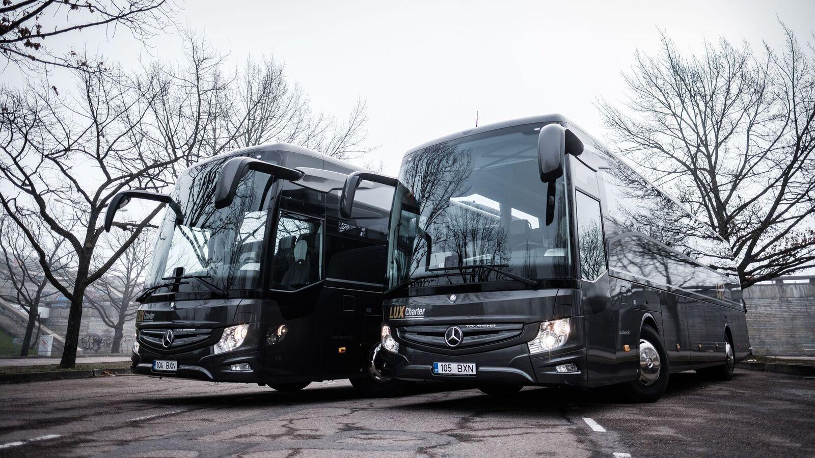 Mugavad ja kvaliteetsed bussid.